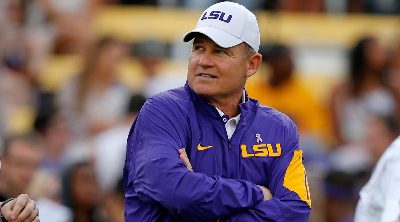 lsu florida fake field goal les miles