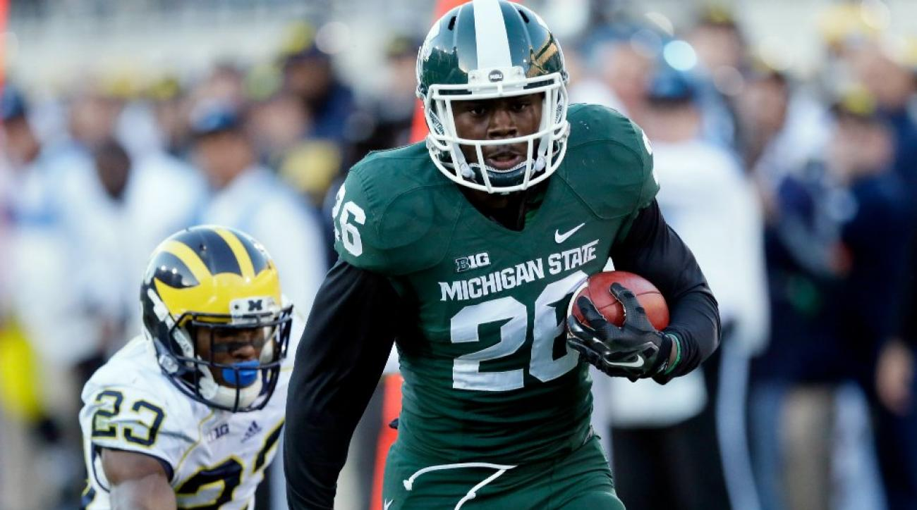 Michigan State defeats Michigan on last second fumble return for touchdown
