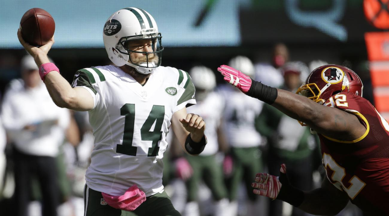 new york jets ryan fitzpatrick rushing touchdown