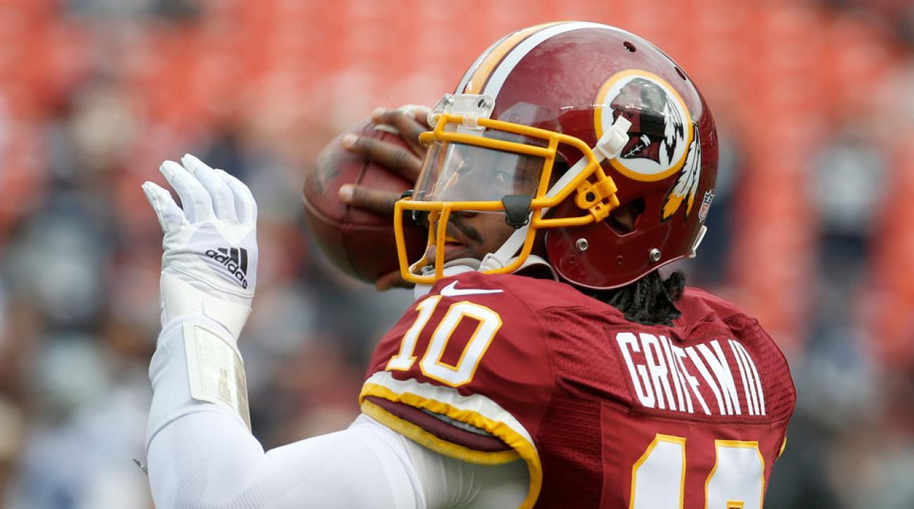 Washington Redskins RG3 active injury update