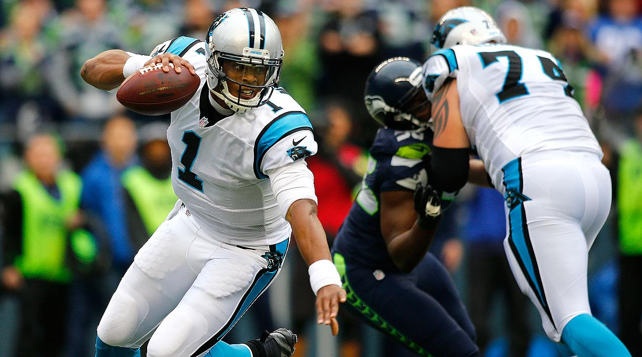 After going 8 for 21 with two interceptions through the first three quarters, Cam Newton came alive down the stretch to lead the Panthers.