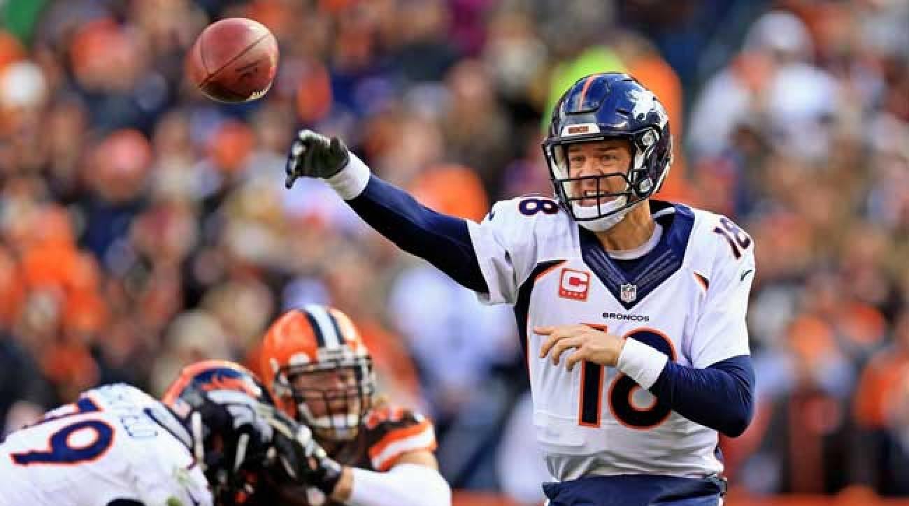 Denver Broncos quarterback Peyton Manning.