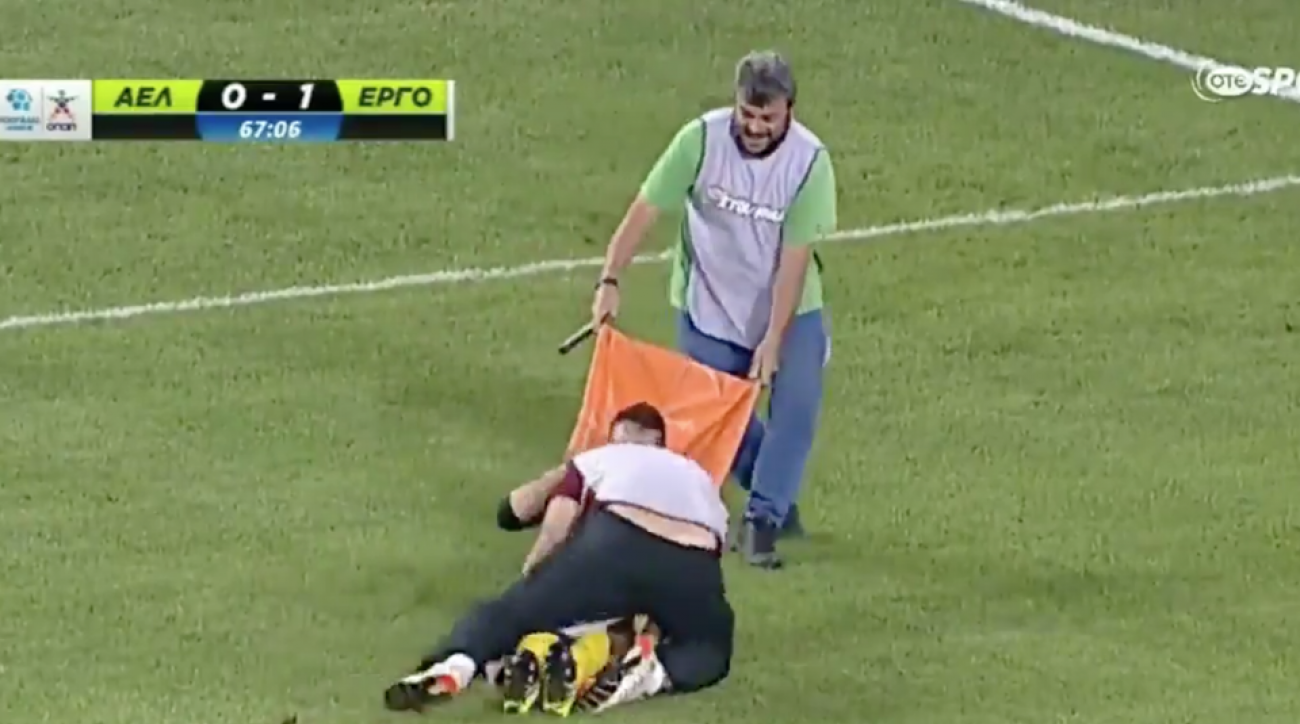 soccer player dropped medic