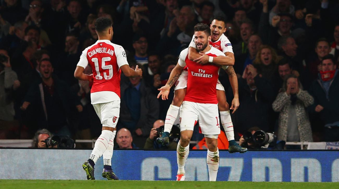 Arsenal beats Bayern Munich in Champions League