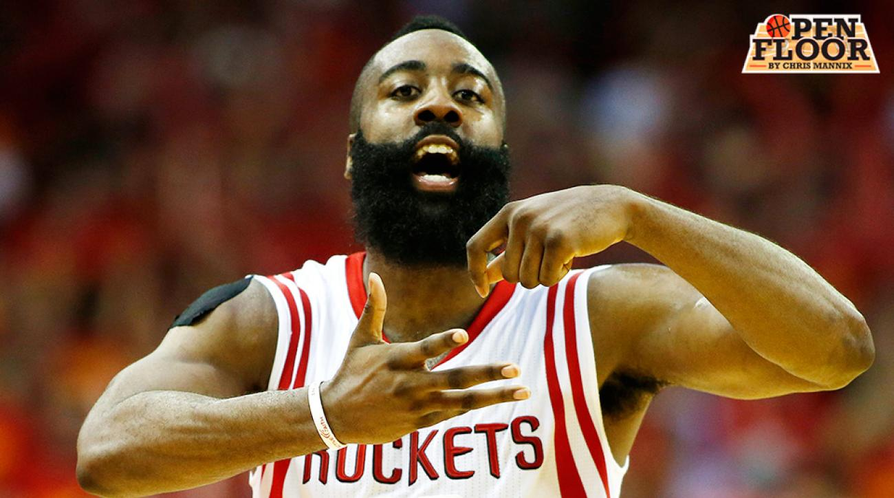 James Harden Houston Rockets 2015–16 NBA season