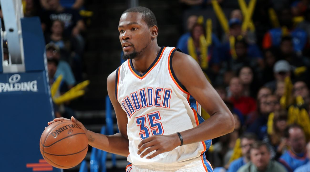 Donovan: Kevin Durant not given minute restrictions