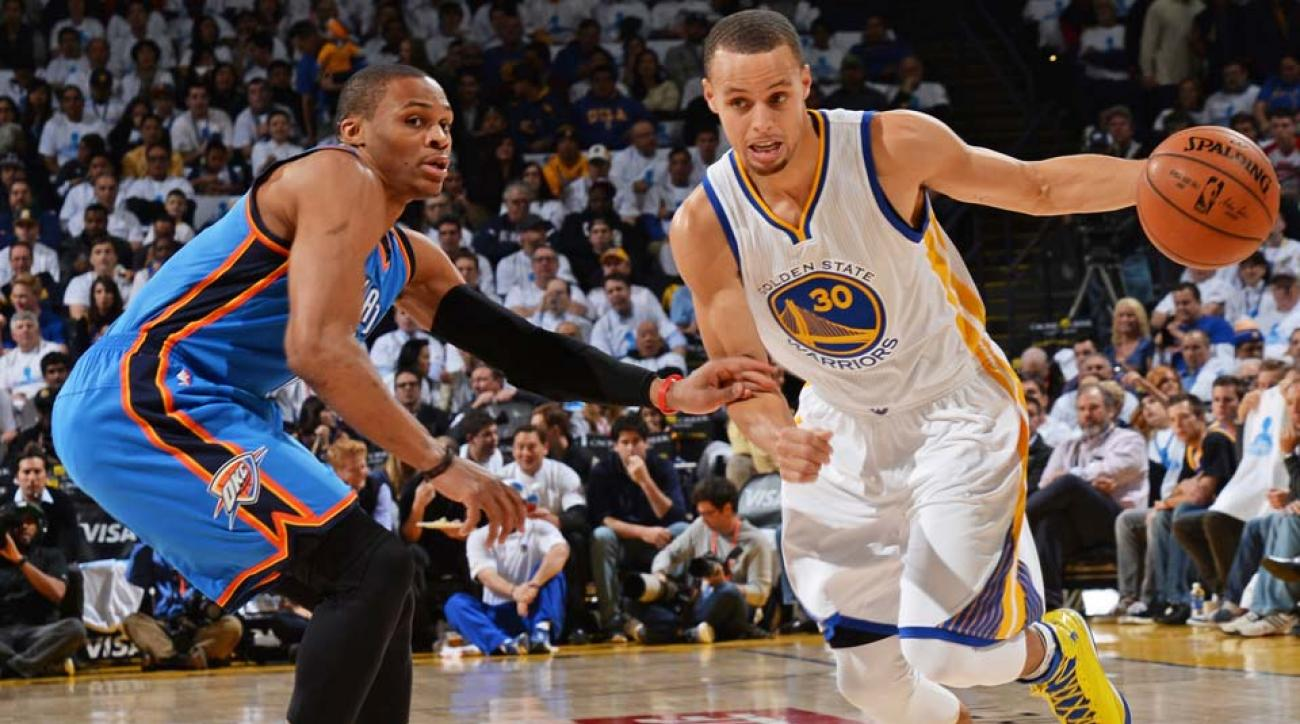 Russell Westbrook, Stephen Curry