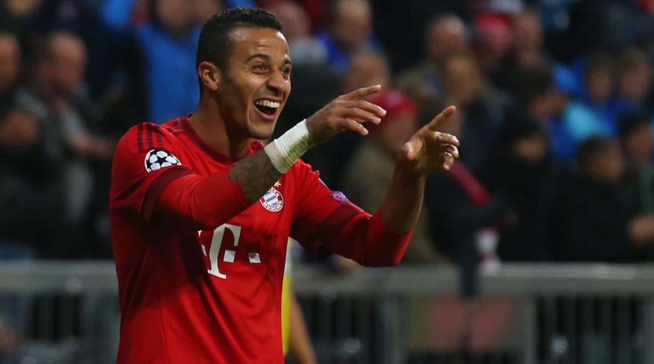 Thiago Alcantara, Bayern Munich