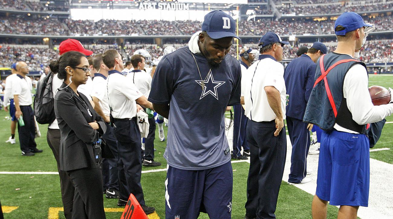 Dallas Cowboys Dez Bryant Foot Likely Out Vs New York
