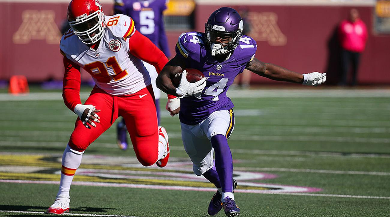 Fantasy football: Stefon Diggs, Chris Ivory, Christine Michael lead Week 7 players to watch