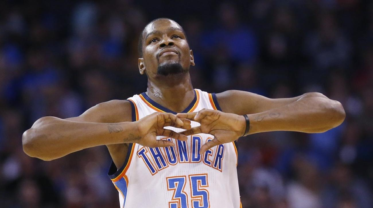 Kevin Durant will be the biggest free agent -- by far -- available in Summer 2016