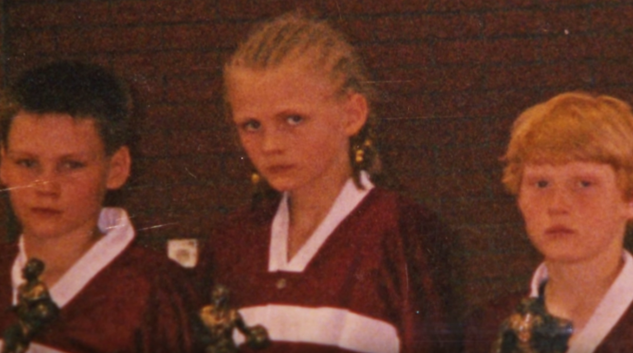 kristaps porzingis new york knicks child cornrows