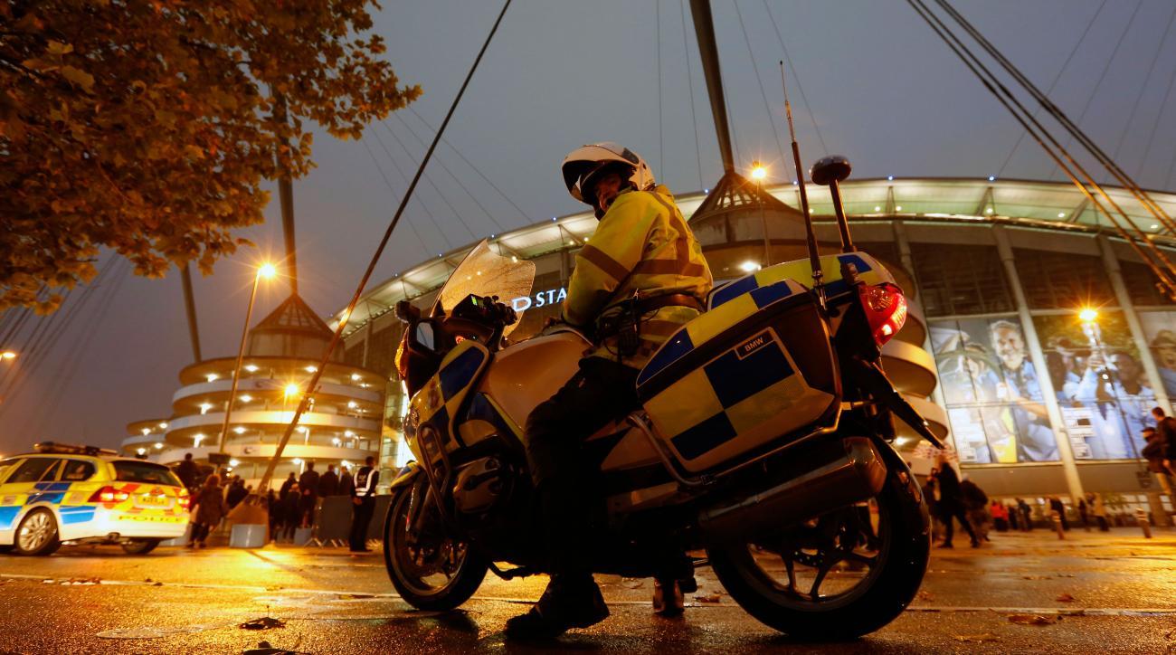 manchester city sevilla fans riot fight brawl