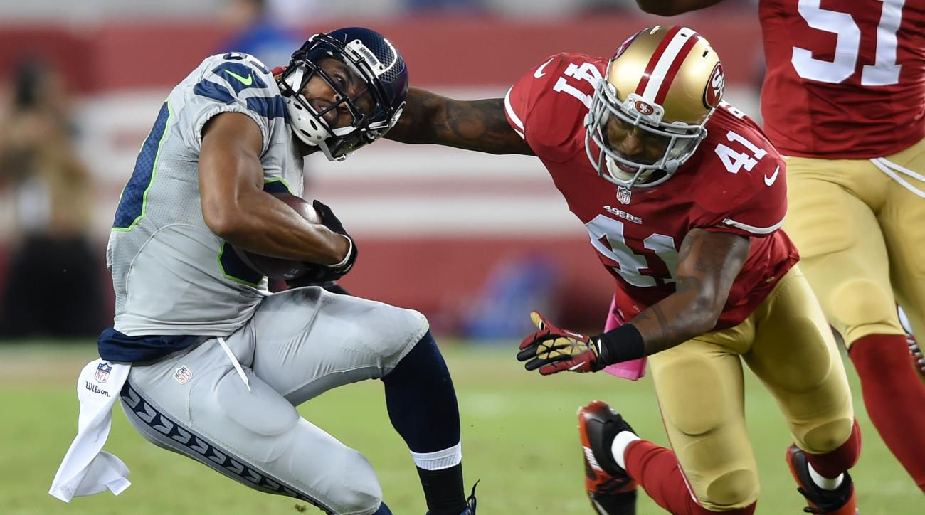 49ers safety Antoine Bethea ruled out against Seahawks