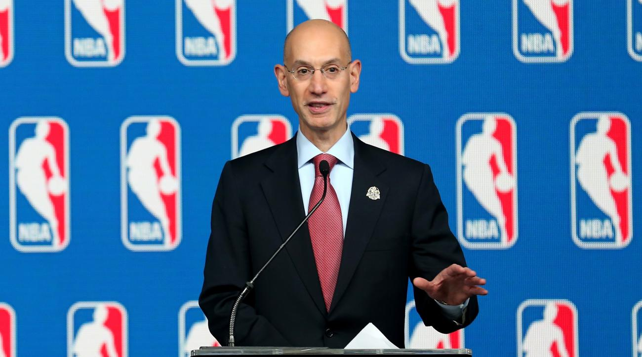 nba commissioner adam silver daily fantasy sports regulation