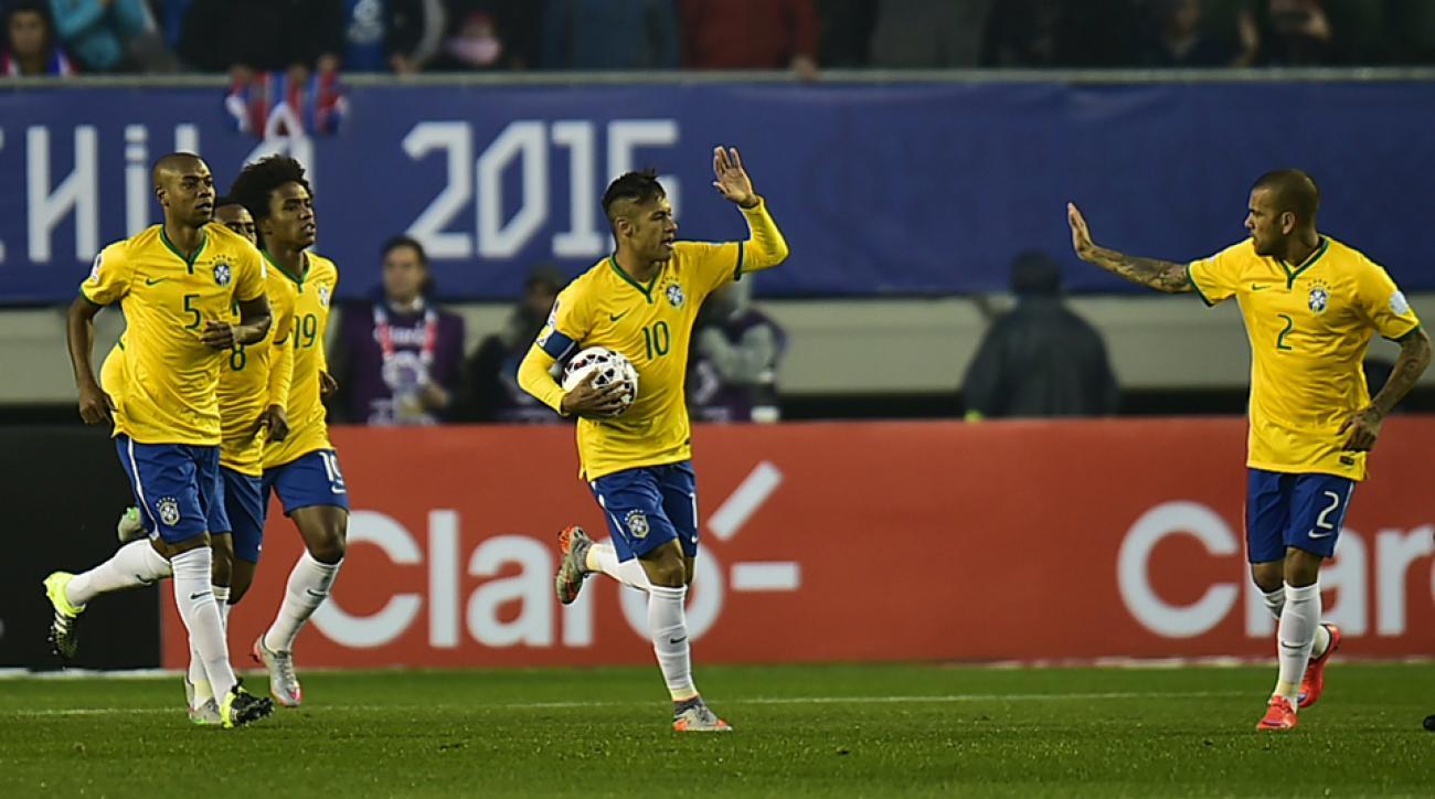 Neymar is back for Brazil