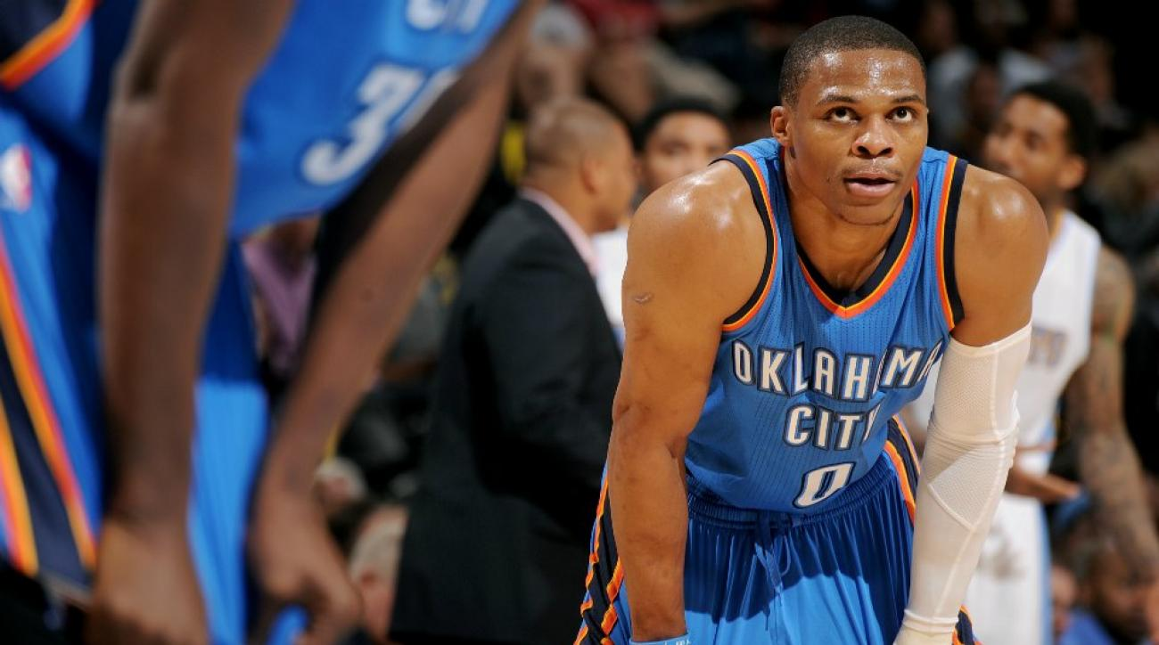 Oklahoma City Thunder Russell Westbrook denies knowlegde of Lil B