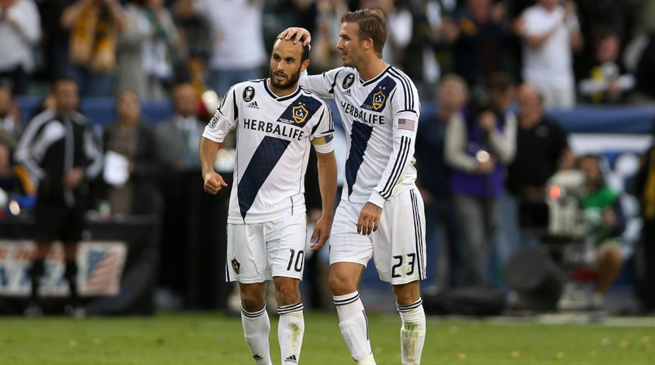 landon donovan david beckham unicef charity