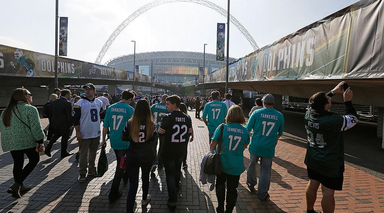 NFL in London roundtable: Future sites, international games and the Jaguars