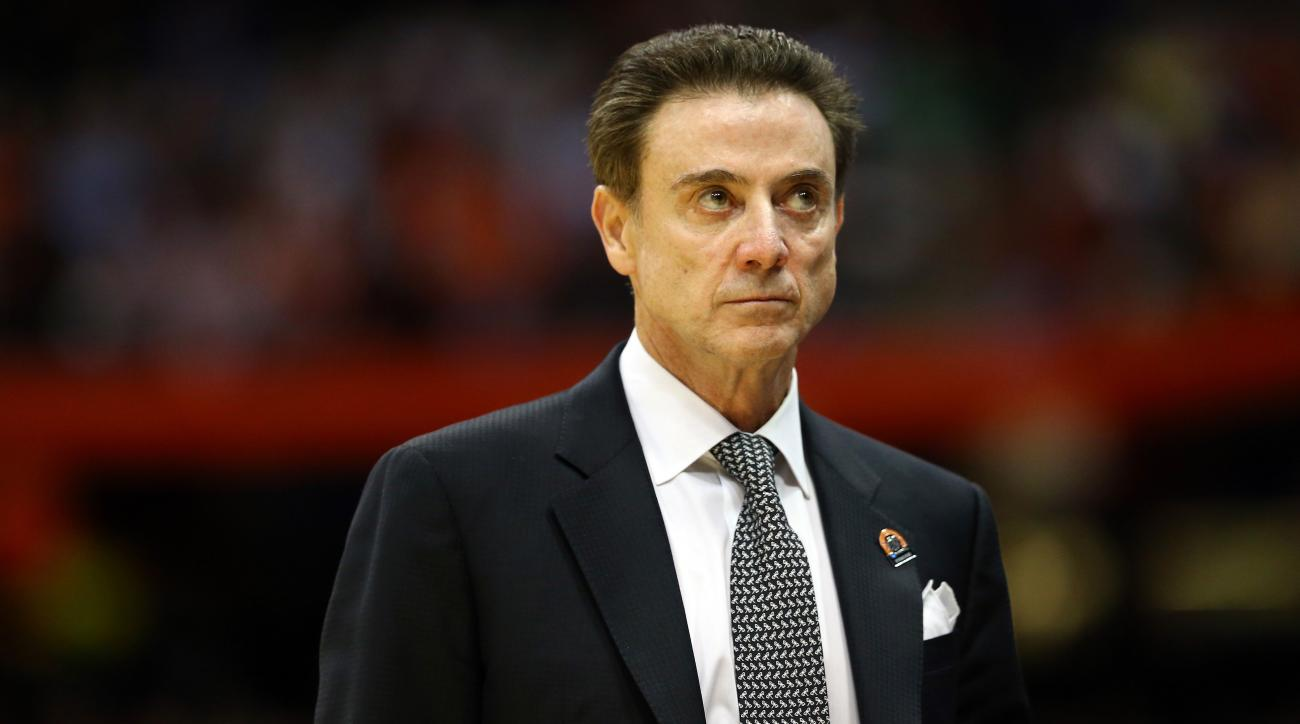 rick pitino louisville scandal acc media day