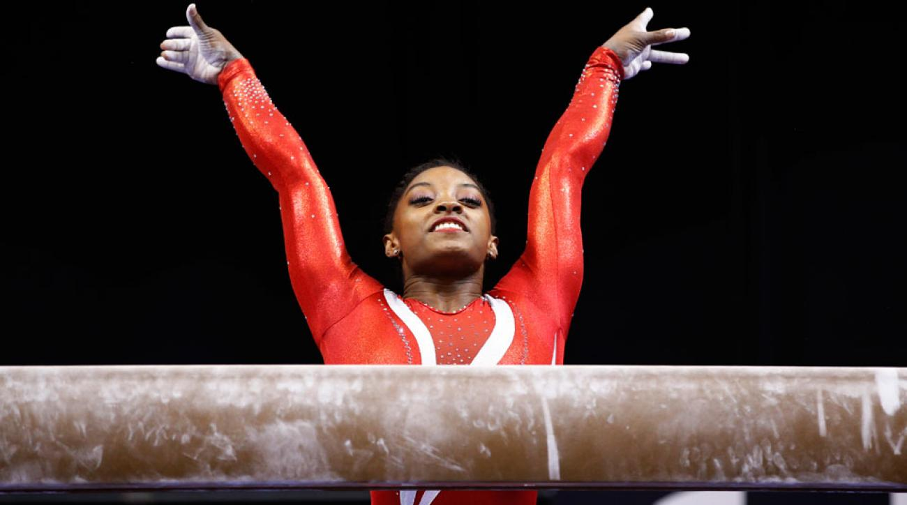 simone biles wins all around glasgow 2015 worlds championship gold