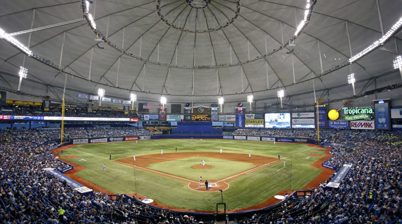 tampa bay rays tropicana field contract