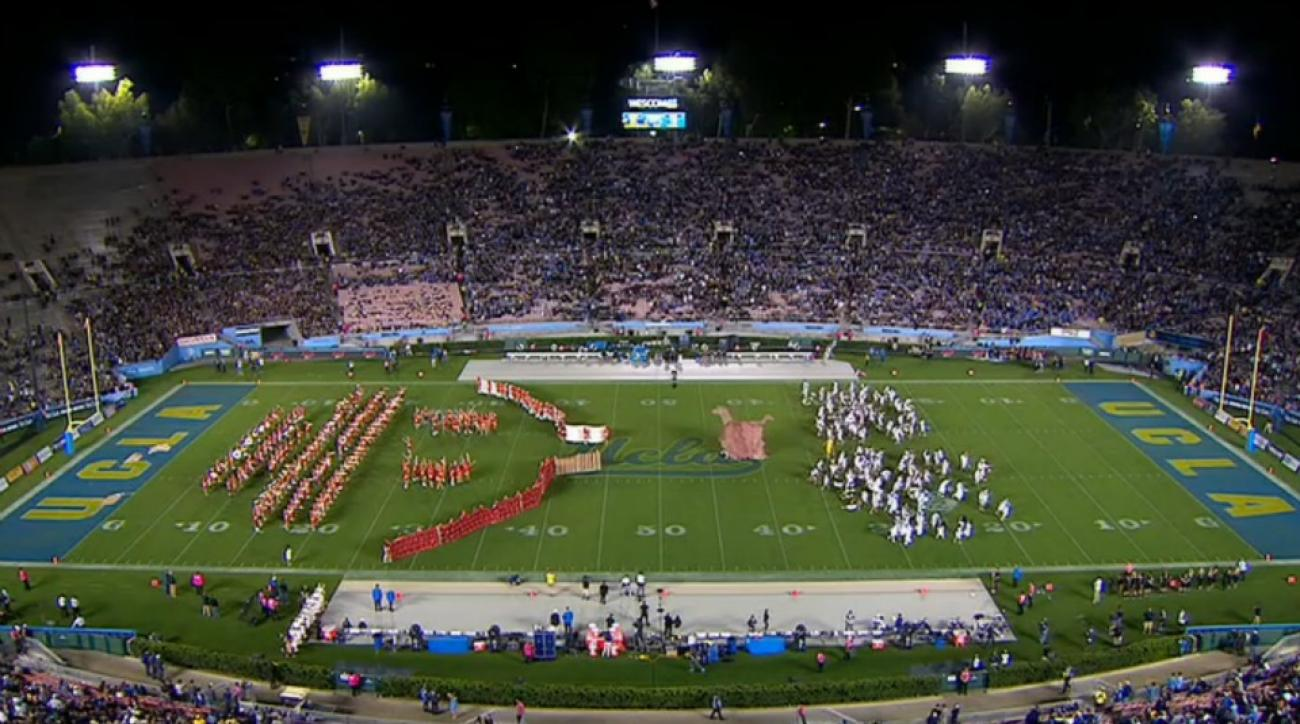 UCLA, Cal team up to re-enact the fall of Troy