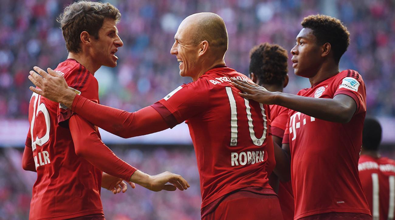 Arjen Robben Bayern Munich Bundesliga