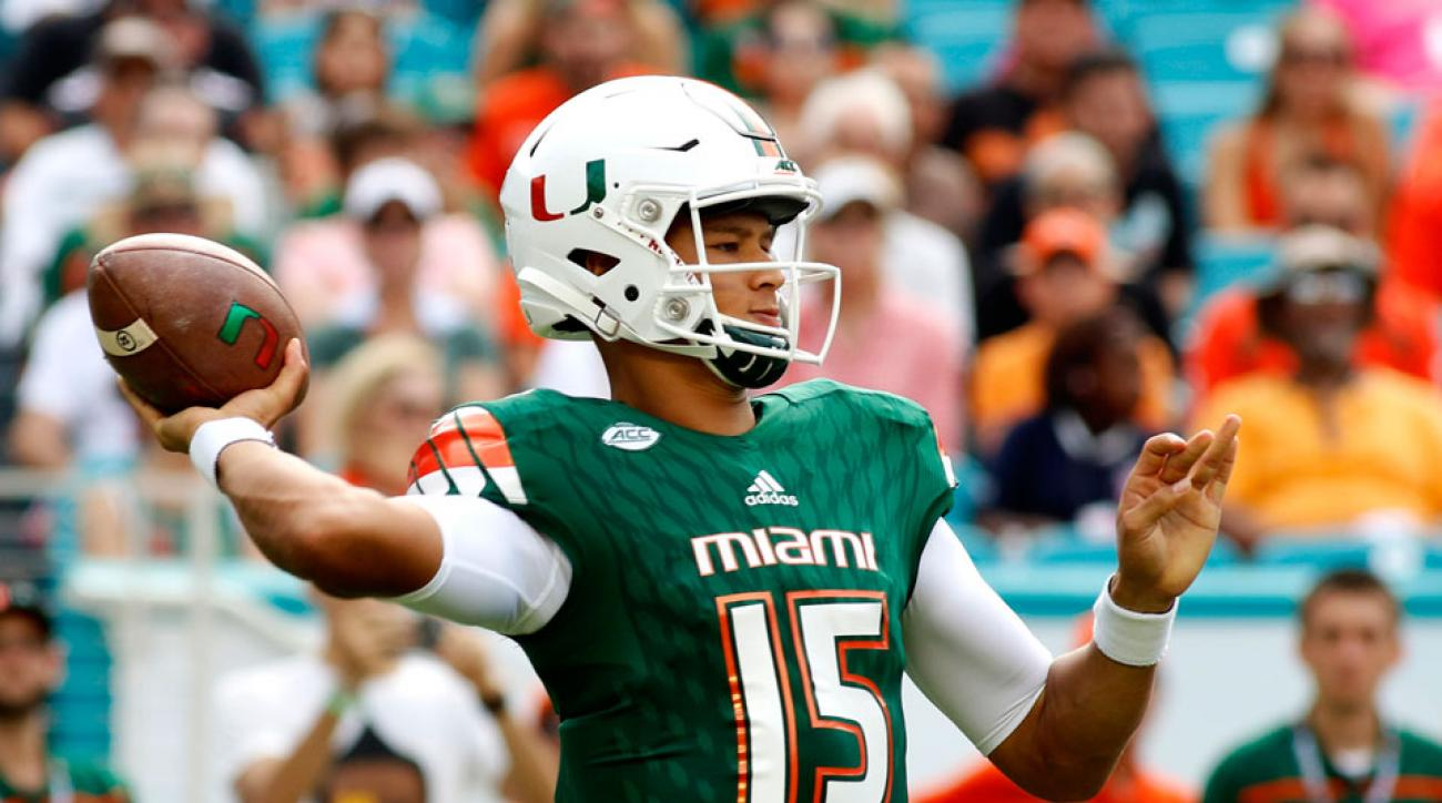 Miami football Brad Kaaya concussion injury update clemson