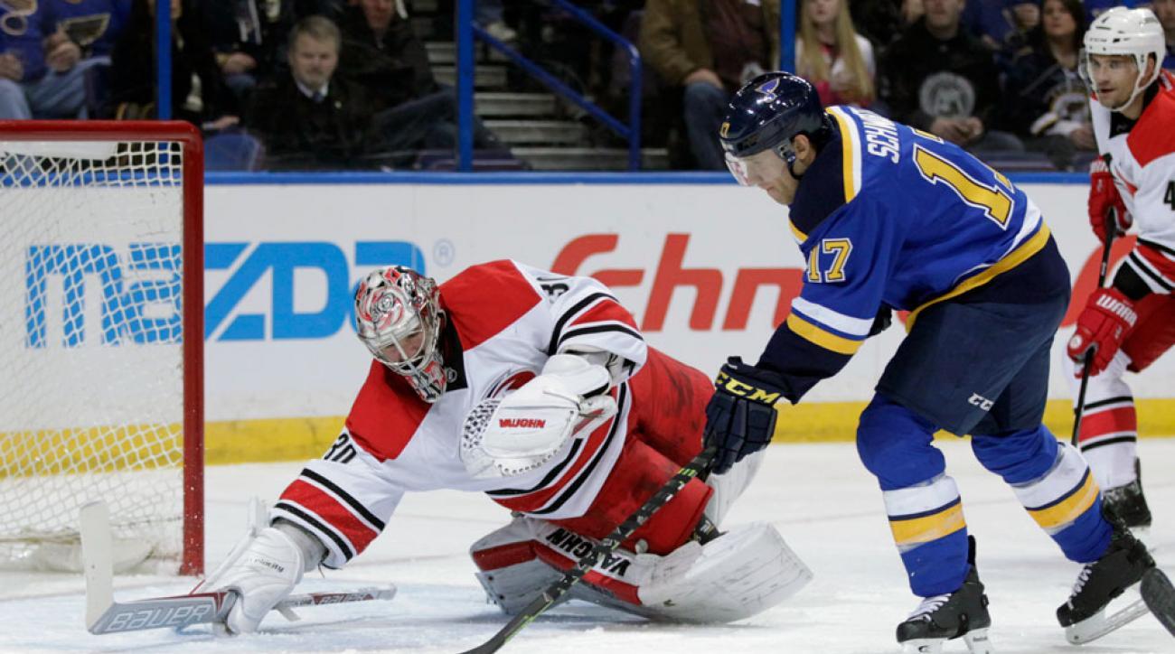 St. Louis Blues Jaden Schwartz ankle injury surgery update