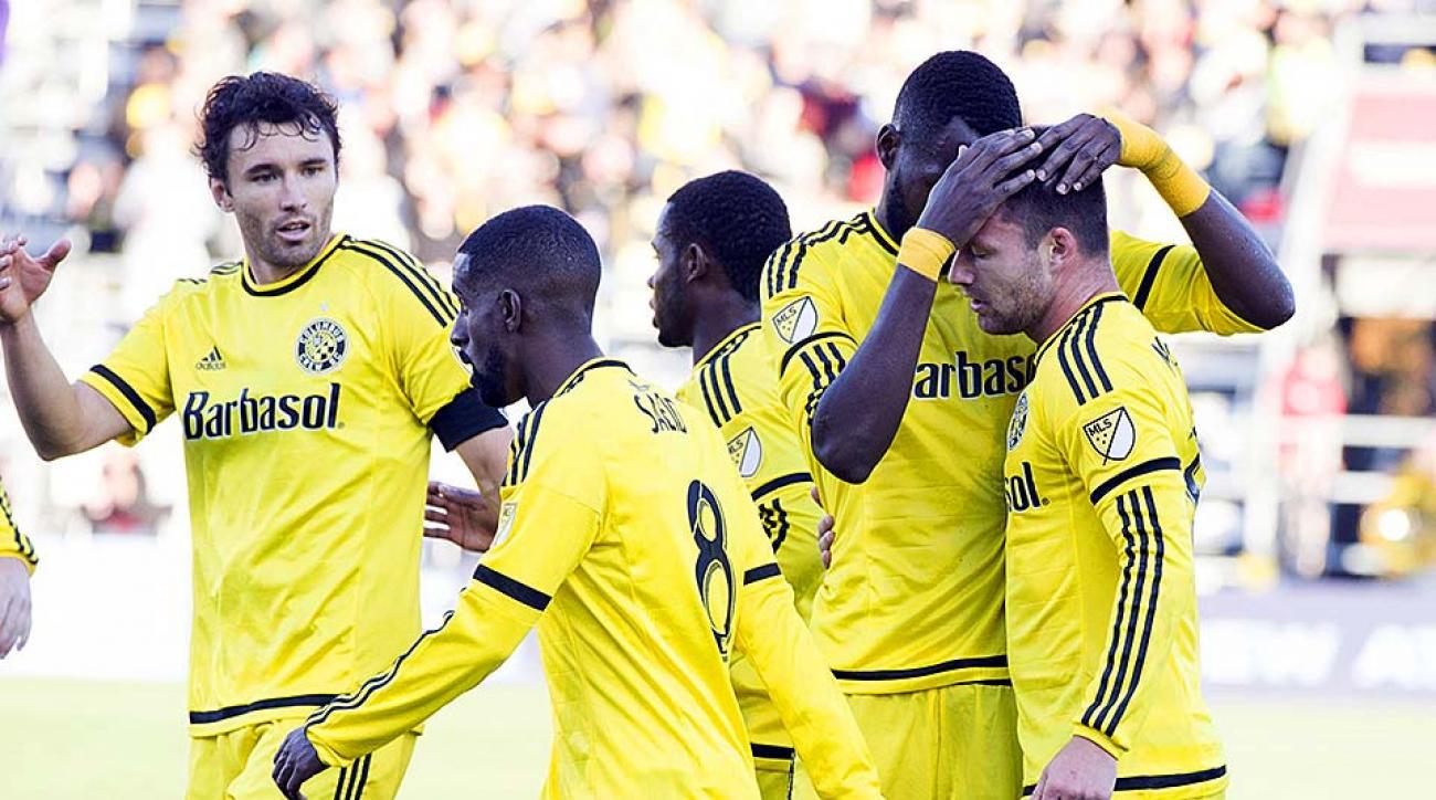 Columbus Crew defeat D.C. United