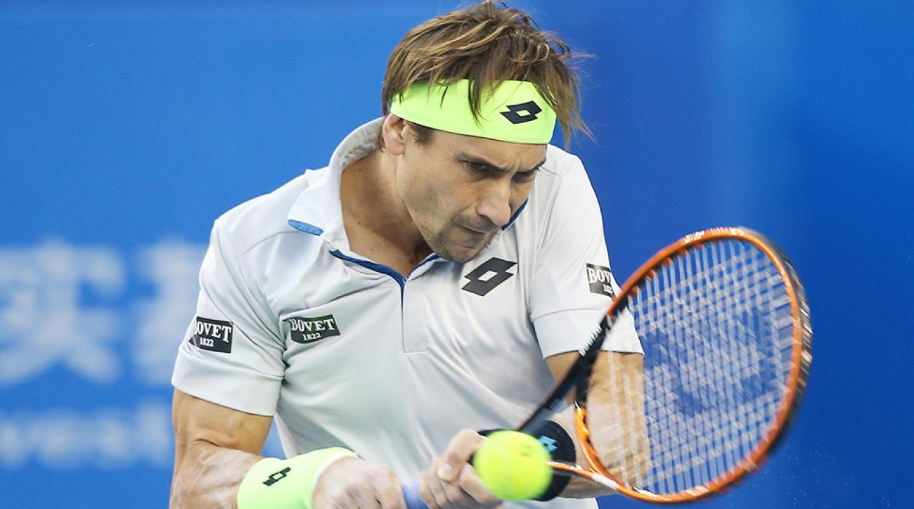 David Ferrer Steve Johnson Erste Bank Open final