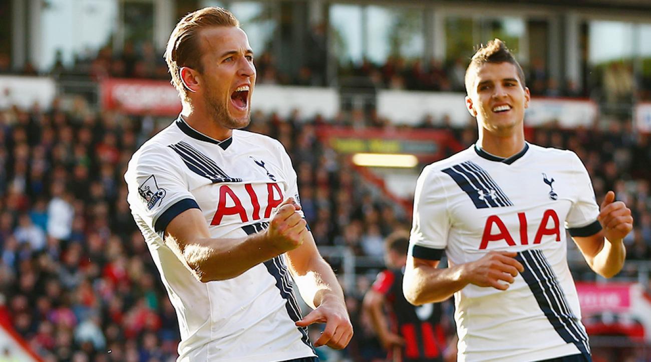Harry Kane hat trick Tottenham English Premier League