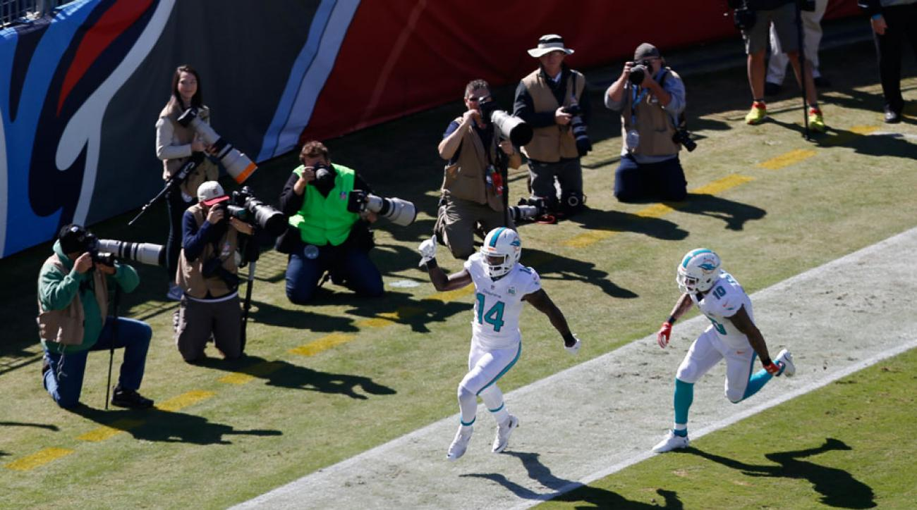Miami Dolphins Jarvis Landry touchdown vs Texans video