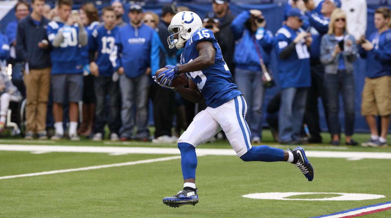 indianapolis colts phillip dorsett injury update