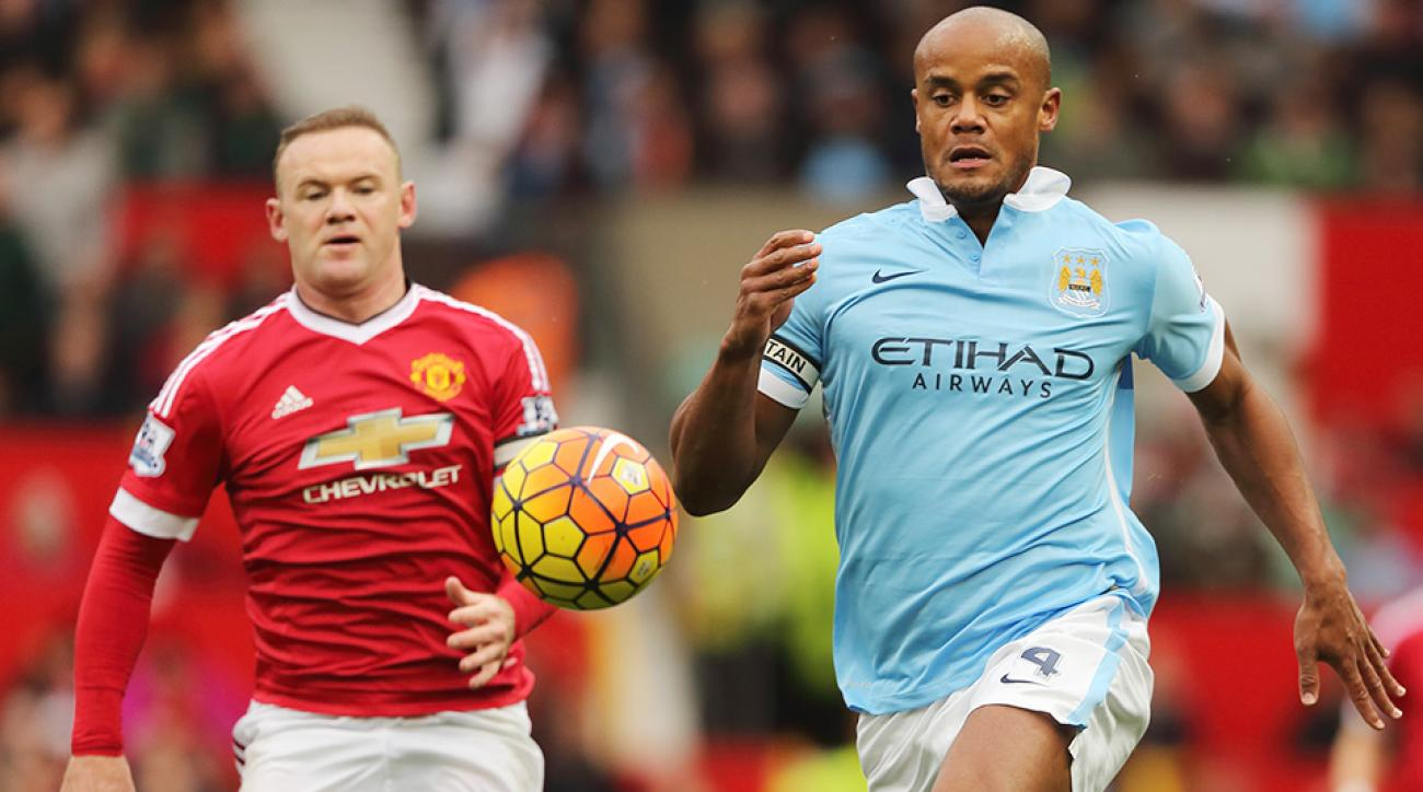 Wayne Rooney Manchester United 2015 Manchester Derby
