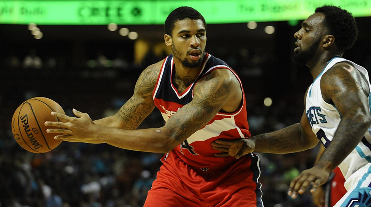 Glen Rice Jr shot in leg charged with possession