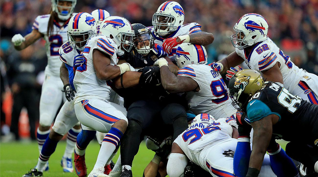 The Bills-Jags game in London was live-streamed by Yahoo and available for free download across the world.
