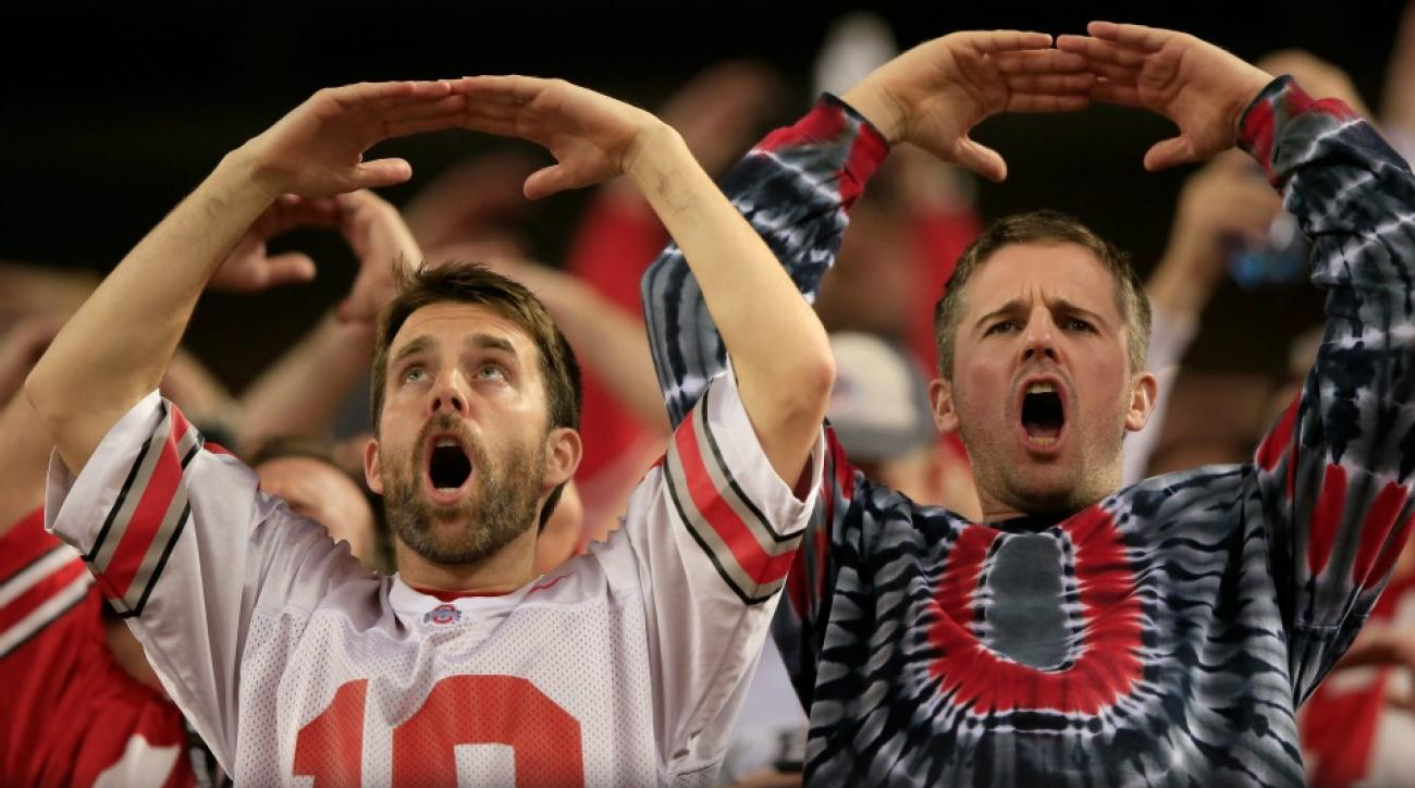 Ohio State University mocked by Carolina Panthers in player intros