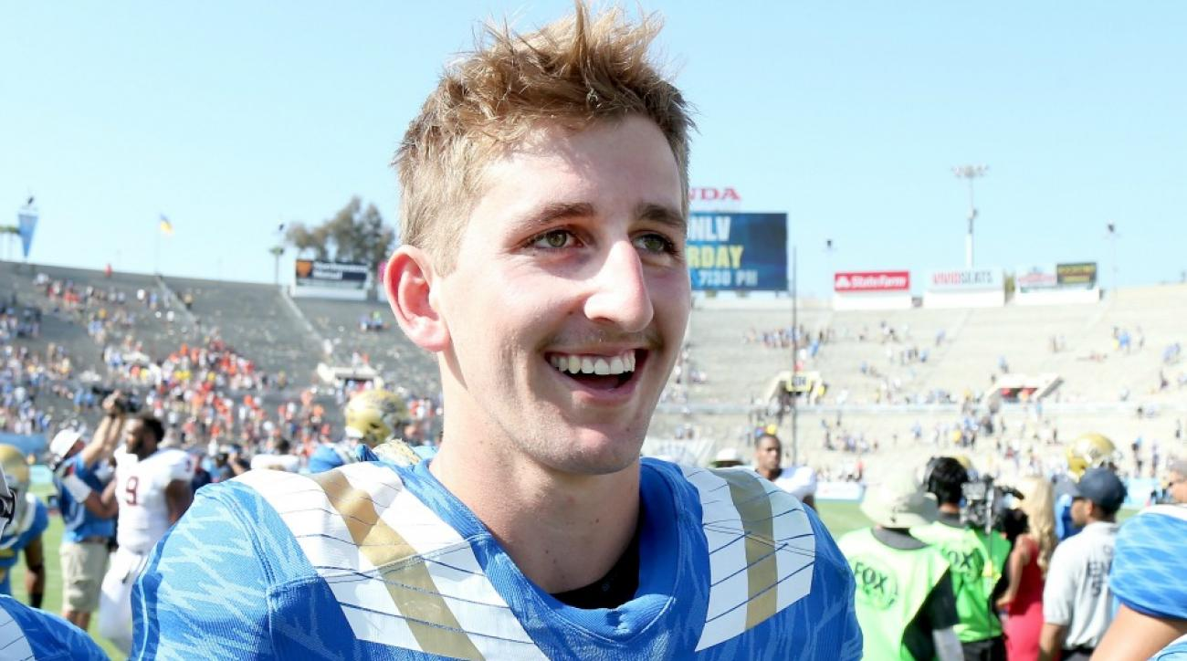 UCLA's Josh Rosen no longer has a hot tub