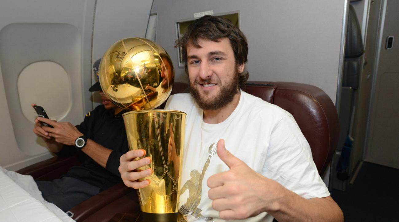 andrew bogut championship ring warriors