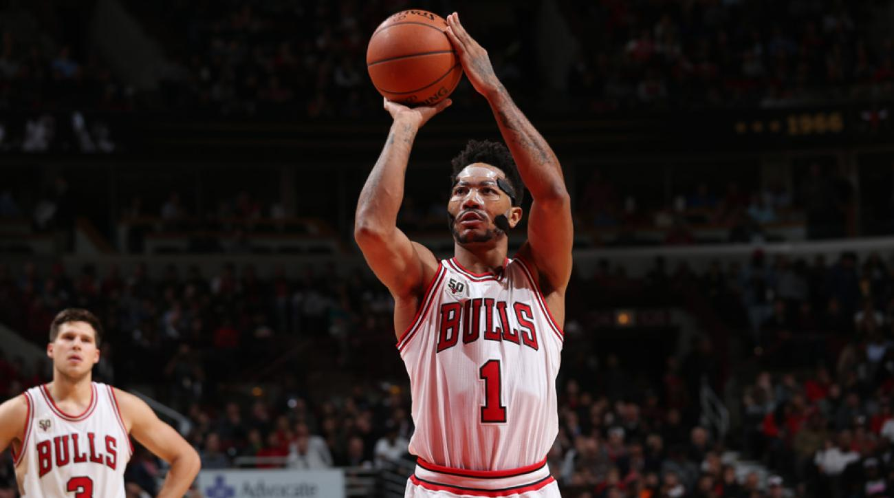 derrick rose chicago bulls season opener blurry vision