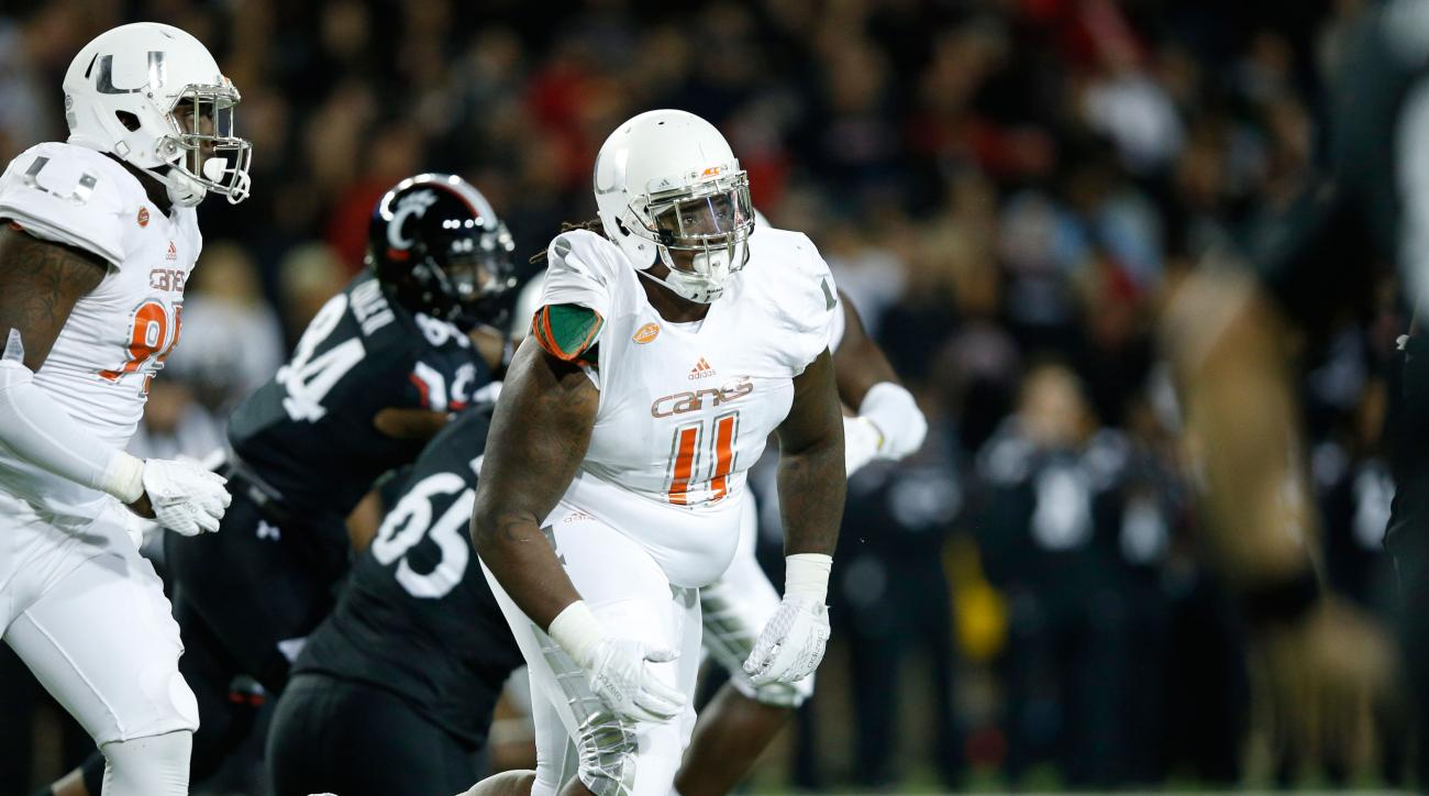 michael wyche miami hurricanes football arrested suspended