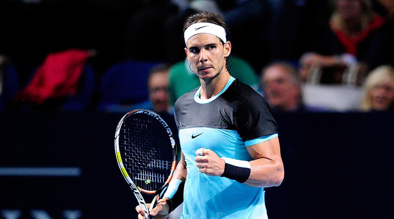 Rafael Nadal Swiss Indoors