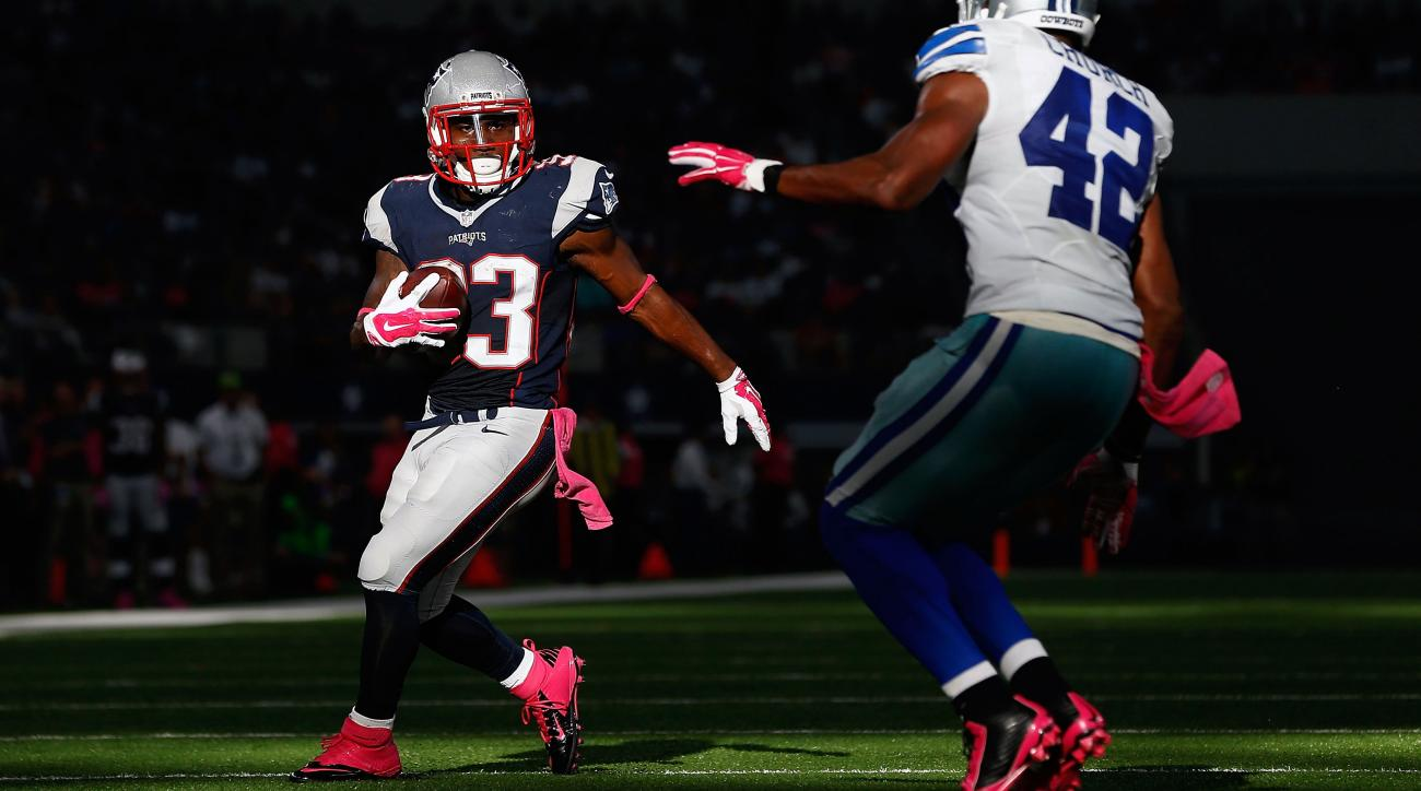 dion lewis patriots injury active fantasy playing