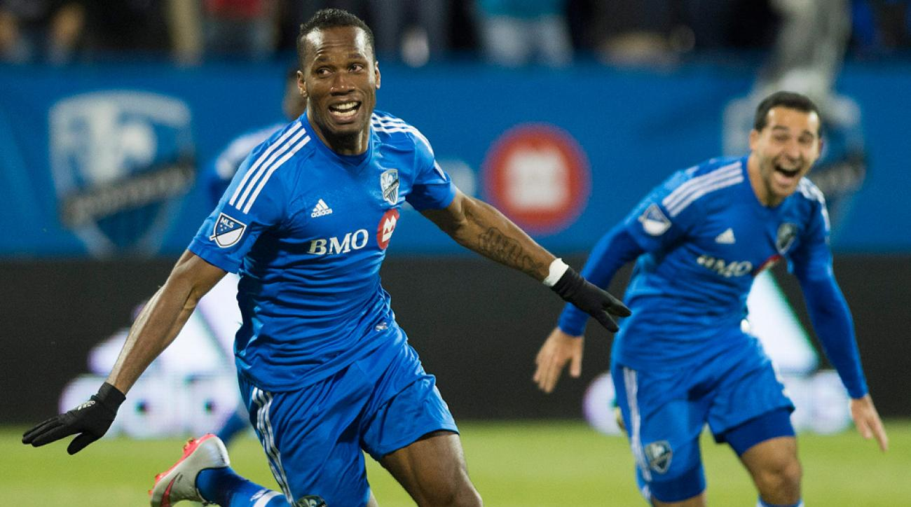 Didier Drogba, Montreal Impact, Toronto FC