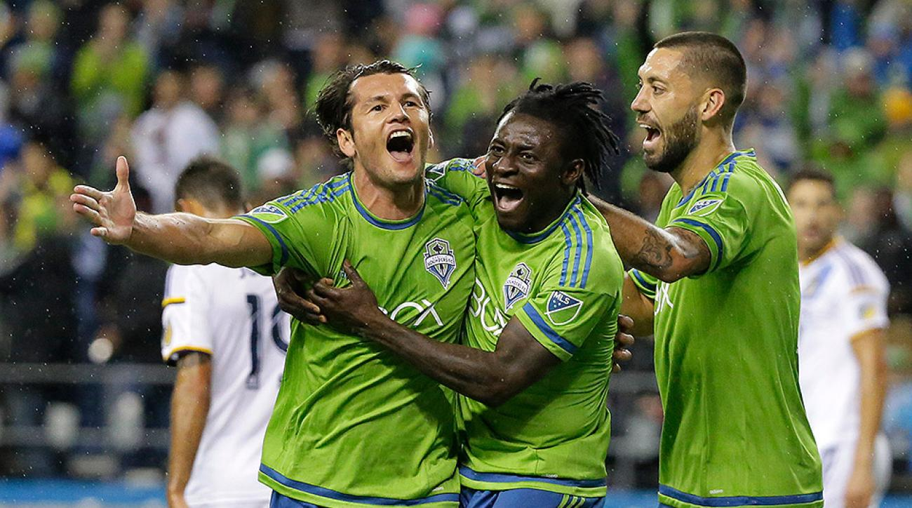 Seattle Sounders beat LA Galaxy