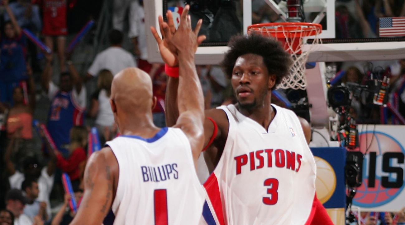 Pistons will retire numbers of Chauncey Billups and Ben Wallace