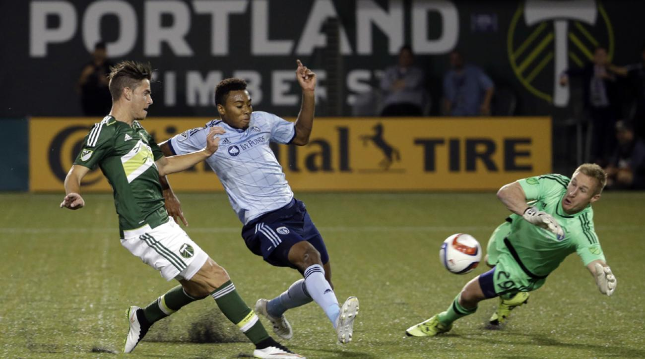 Portland Timbers, Sporting Kansas City