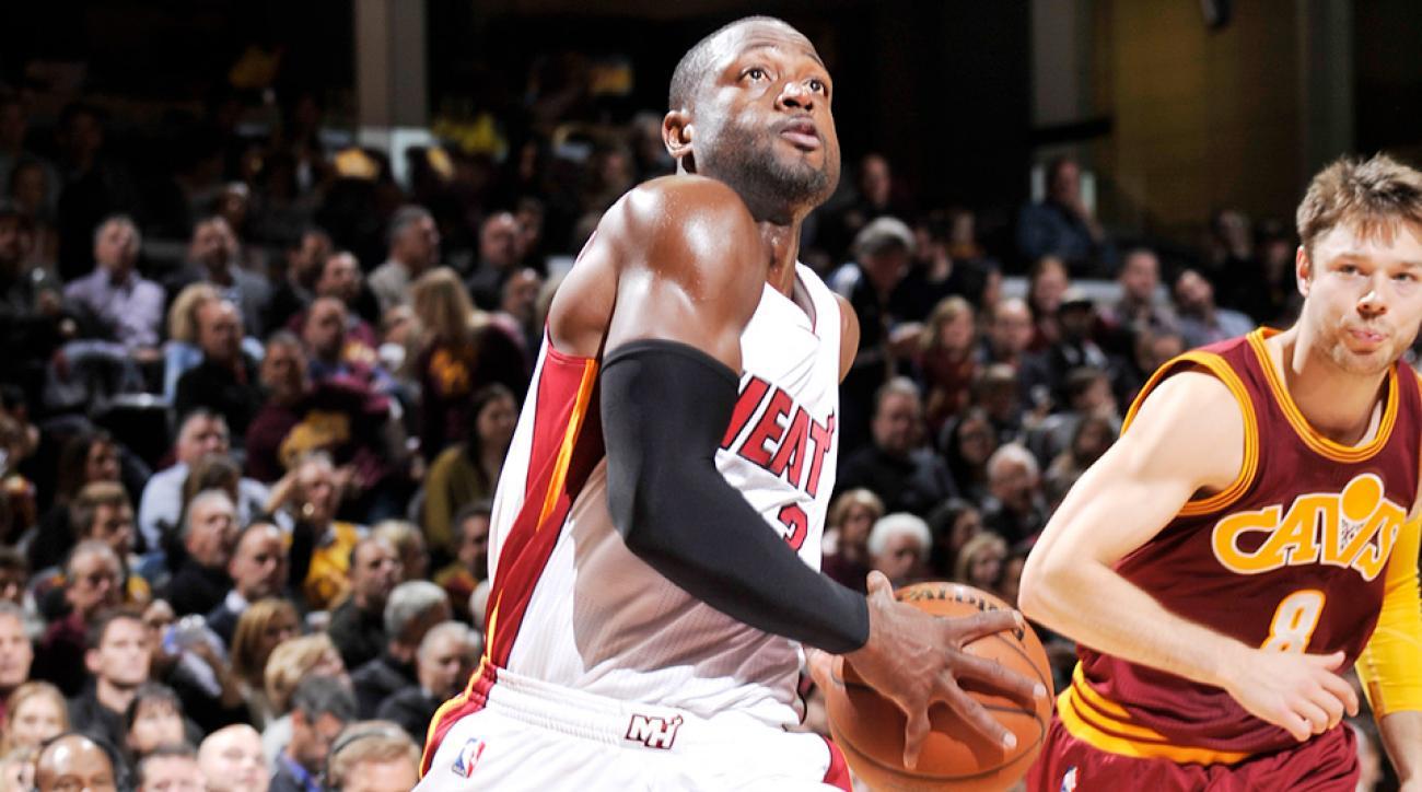 Dwyane Wade Miami Heat Cleveland Cavaliers dunk video